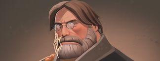 Spielt in Team Fortress 2 den ehrwürdigen Gabe Newell