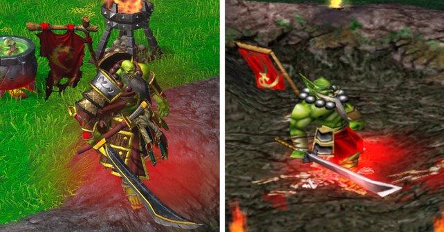 Der optische Unterschied zwischen Warcraft 3: Reforged und dem Original von 2002 ist nicht von der Hand zu weisen.