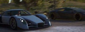 Forza Horizon 4: Trailer nahezu identisch in GTA 5 nachgestellt