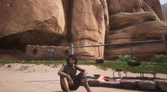 Wenn einmal keine Feinde in Conan Exiles in der Nähe sind, geht es ran ans Feuer und Essen herstellen. Sofern ihr denn die Zutaten habt...