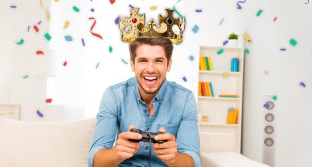 Für so manche Gaming-Erfolge darf man sich schon mal selbst auf die Schulter klopfen.