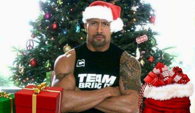 """Dwayne """"The Rock"""" Johnson bringt Kindern dieses Jahr die Weihnachtsgeschenke früher."""