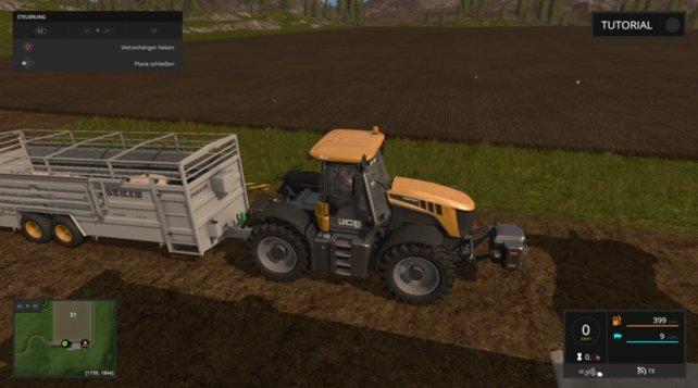 Der Joskin Betimax RDS 7500 eignet sich herrvorragend für den Schweinetransport