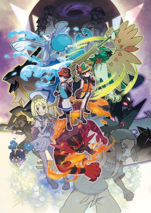 Auf ins Abenteuer! Mit dem Insel-Scan findet ihr bei Pokémon Ultrasonne und Ultramond neue Monster.