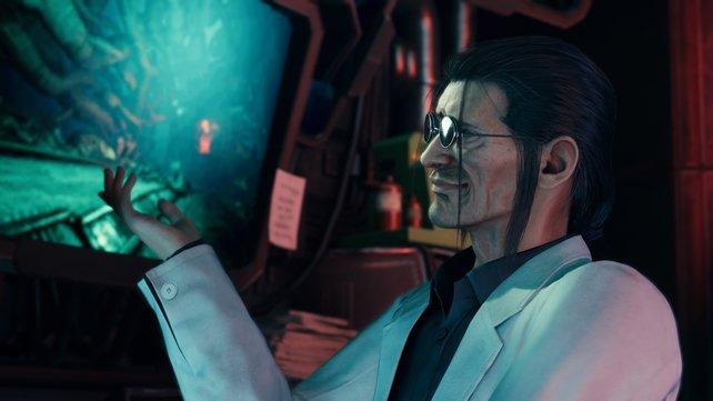 Professor Hojo ist der psychopathische und widerwärtige Leiter von Shinras Forschungsabteilung.