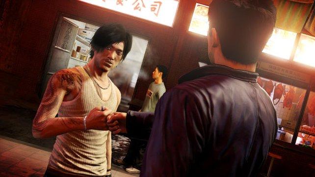 Der verdeckte Ermittler Wei Shen trifft den Ganoven Jackie Ma im Knast.