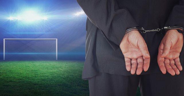 Im Fußball schon ein bekanntes Verbrechen: Wettbetrug.