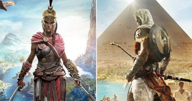 """Zwei der größten """"Assassin's Creed""""-Abenteuer bekommt ihr derzeit auf Amazon zu einem super Preis."""