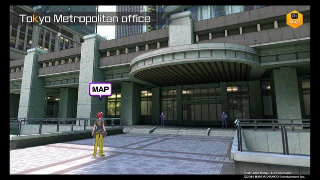 Im Tokyo Metropolitan Office geht es nach einem kleinen Abstecher im Untergrund weiter.