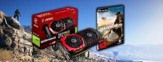 Gewinnt jetzt eine MSI GeForce GTX 1060 GAMING X 6G mit Tom Clancy's Ghost Recon - Wildlands