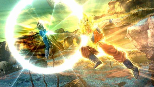 Und wieder einmal kloppt sich Son Goku auf Namek. Da sollte er sich ja eigentlich inzwischen auskennen.