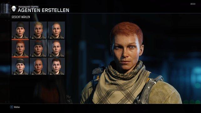 Diesmal könnt ihr auch als weiblicher Agent spielen.