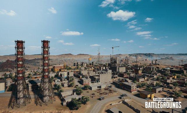 Das dichte Industriegebiet lädt zu Überraschungsangriffen ein.