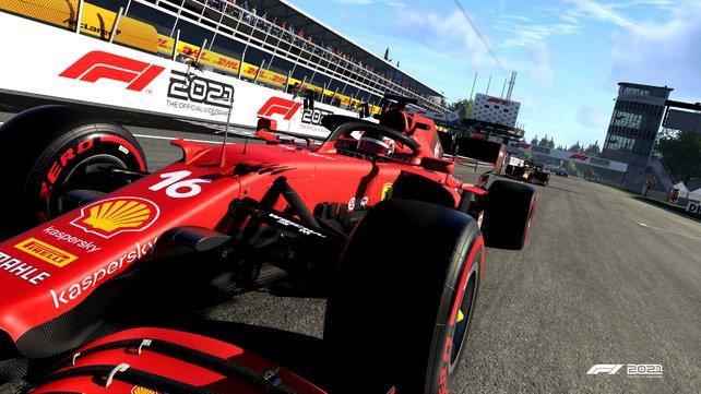 Mit Vollgas zum Start-Ziel-Sieg? Wie gut F1 2021 wirklich ist, erfahrt ihr in unserem Test.