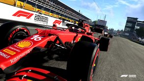 Racing in Reinform mit riesigem Umfang