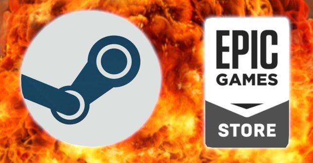 Nanu! Wie spricht Steam denn da mit seinem Konkurrenten?