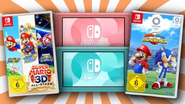 """Das """"Black Friday""""-Wochenende bietet euch tolle Deals rund um die Nintendo Switch."""