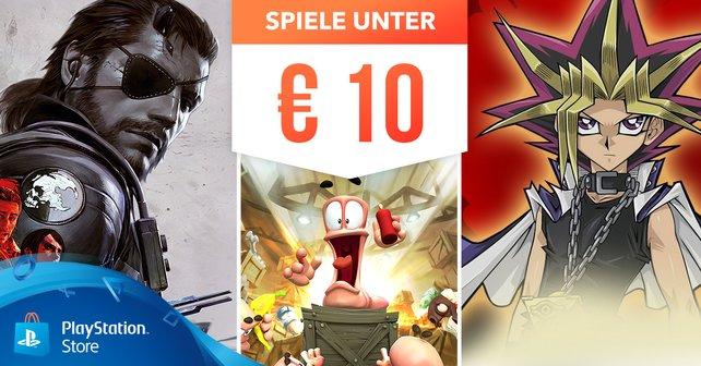 Games unter 10 Euro im PlayStation Store.