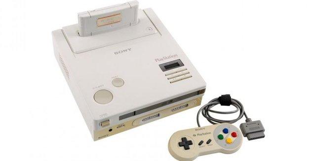 Das ist der Prototyp der Zusammenarbeit von Sony und Nintendo - die PlayStation.