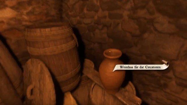 Im Haus des Kustors gibt es Wein, den Heinrich für die nächtlichen Gelage der Circatoren besorgen muss.