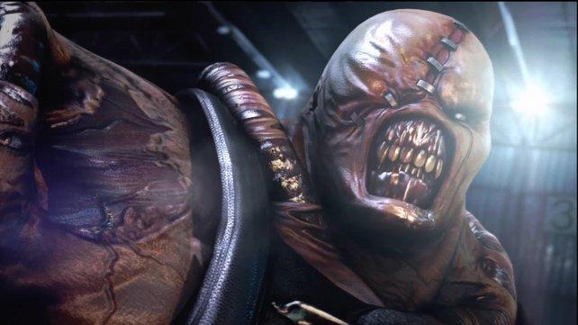 Der furchteinflößende Erzfeind aus Resident Evil 3: Nemesis. Vielleicht kommt das Wiedersehen schneller als gedacht.
