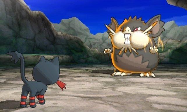 Nach der Prüfung des Captains folgt der Kampf gegen das Herrscher-Pokémon Rattikarl.