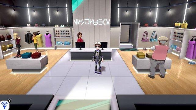 In Boutiquen könnt ihr nicht nur einzelne Kleidungsstücke kaufen, sondern auch Arena-Uniformen.