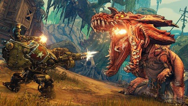 In Borderlands 3 erwarten euch actiongeladene Kämpfe gegen furchteinflößende und verrückte Gegner.