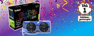 Jubiläumsgewinnspiel: Gewinnt eine GeForce GTX 1080 Ti - **UPDATE 23. April 2018**