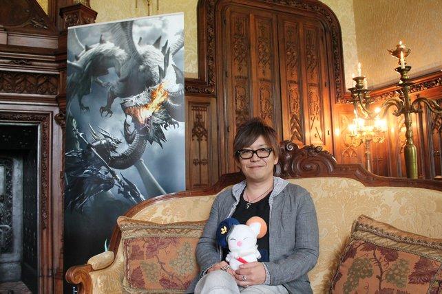 Ein Mann und sein Mogry: Naoki Yoshida, der Produzent von Final Fantasy 14.
