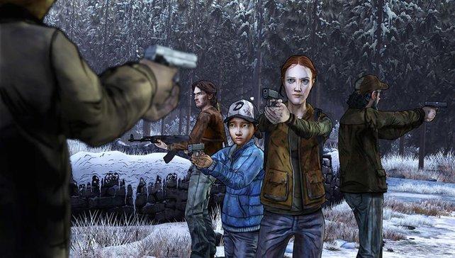 In der Zombie-Action wisst ihr nie, wem ihr vertrauen könnt.