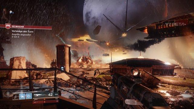 Destiny 2 überzeugt mit hübscher Grafik. Wir präsentieren euch die Systemanforderungen dazu.