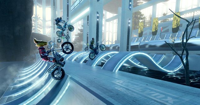 Die Entwickler von Trials spornen die Spieler dazu an eigene Strecken zu bauen.