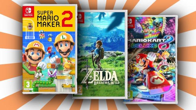 Bei MediaMarkt gibt es gerade Switch-Games im Angebot.
