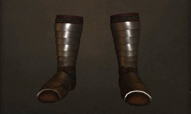 Lamellar Plate Boots