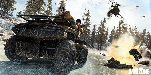 In CoD: Warzone treten 150 Spieler gegeneinander an. Neue Leaks deuten daraufhin, dass ihr bald mehr Freiheiten bei der Team-Gestaltung bekommen könntet.