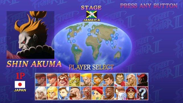 Wenn ihr Shin Akuma freischalten wollt, müsst ihr die Reihenfolge oben beachten.