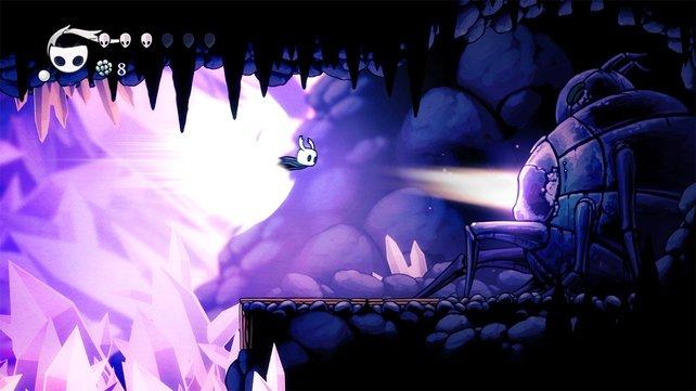 Ein weiteres Indie-Spiel für die Switch das viel gelobt wird: Hollow Knight.