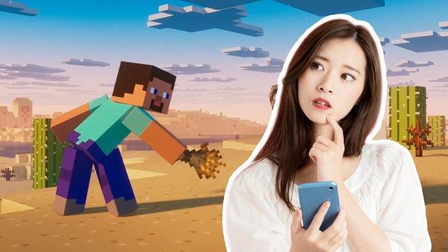 Stellt euer Minecraft-Wissen auf die Probe! (Bild: Microsot / Getty Images – metamorworks)