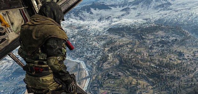 Irgendwo dort unten in Call of Duty: Warzone gibt es demnächst neue Waffen zu finden.