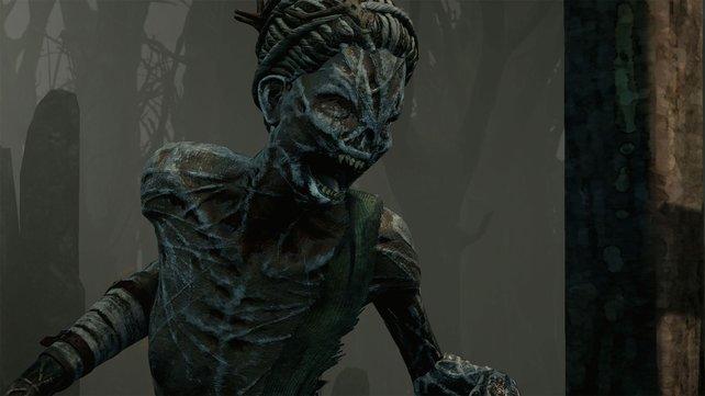 Abgemagert und grauenerregend wirkt der neue Killer bei Dead by Daylight. The Hag heißt dieser Dämon.