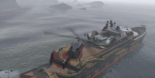 In GTA Online überfallen auch mal Piraten eure Super-Jacht