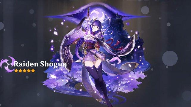 Shougun Raiden wurde mit dem Update 2.1 hinzugefügt und reiht sich im SS-Tier von Genshin Impact ein.
