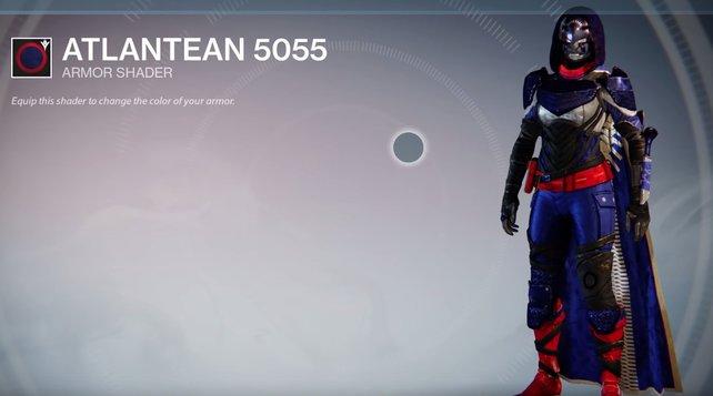 Atlantean 5055: Diese Farbkombination haben wir bisher nicht gesehen - sehr schick.