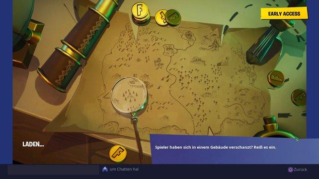 """""""Insel der Schätze"""": Diesen Ladebildschirm erhaltet ihr auf Stufe 10 des Battle Passes."""