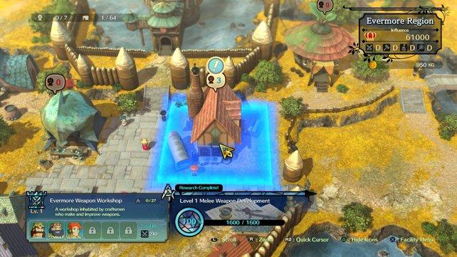 Der Aufbau-Teil des Spiels wirkt zwar etwas vorgegeben, macht das aber durch schieren Umfang wieder wett.