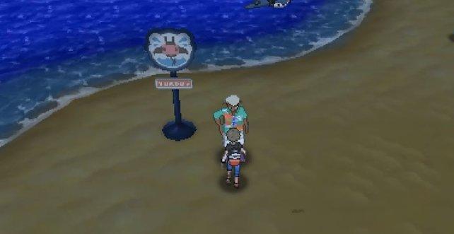 Bringt Professor Eich ausreichend Herrscher-Sticker, um mit Herrscher-Pokémon belohnt zu werden.