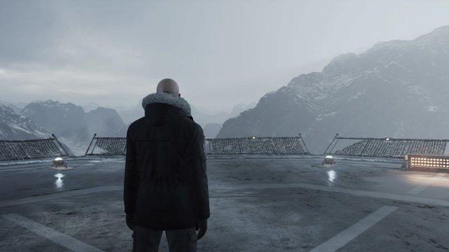 Mit dieser überragenden Aussicht beginnt das Abenteuer von Agent 47