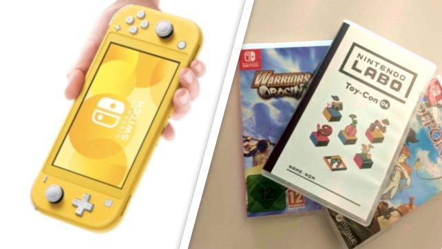 Nintendo Switch Lite: Wir sagen euch, welche Spiele spielbar sind.