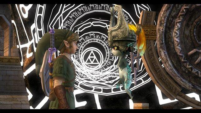 Das Verhältnis zwischen Link und Midna ist einer der Dreh- und Angelpunkte des Spiels.